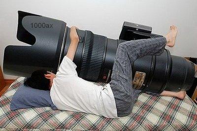 عکاسی که با دوربین خود ازدواج کرد